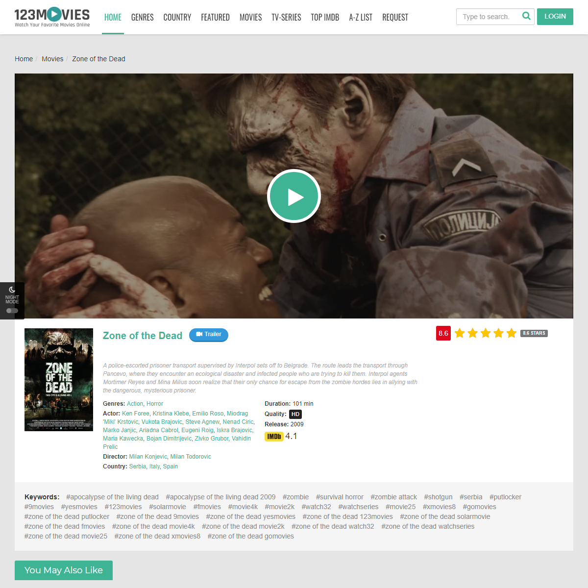 Watch Zone of the Dead For Free Online 123movies.com