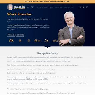 Homepage - Ernie The Attorney