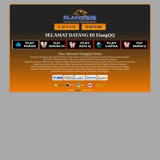 ElangQQ - Situs Daftar Elang QQ Online