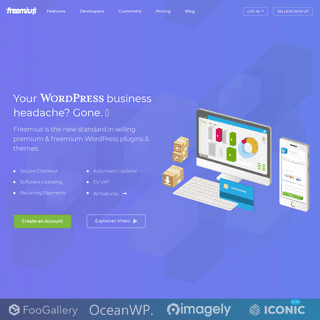 Freemius - The new standard in selling WordPress plugins and themes