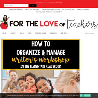 For The Love of Teachers ~ For The Love of Teachers is dedicated to teacher collaboration, professional growth & provides useful