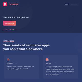 TweakBox - Your Favourite App Store