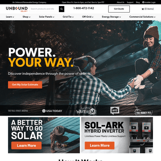 Unbound Solar – Solar Products & DIY Advice by Our Experts