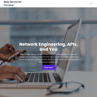 Web Server for Chrome