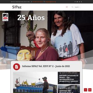 Inicio - SIPAZ - Servicio Internacional para la Paz