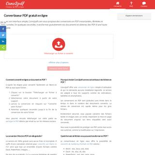 Convertisseur PDF gratuit - Convertir vos fichiers et documents en ligne