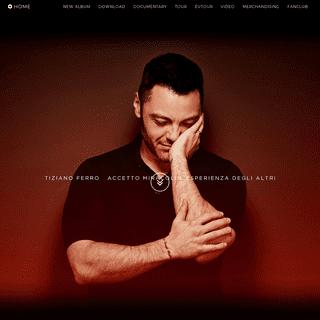 Tiziano Ferro New Album