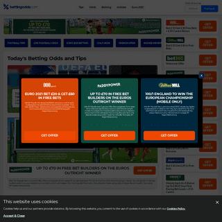 Today`s Betting Odds - Sport Betting Tips - BettingOdds.com