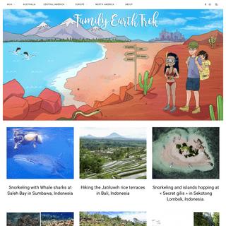 Family Earth Trek – Living a Life Full of Travel and Adventure