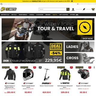 FC-Moto ▷ Motorcycle Online Shop - large assortment