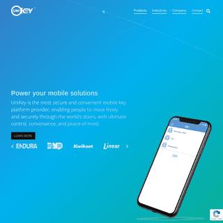 The Secure, Convenient Mobile Access Control Platform