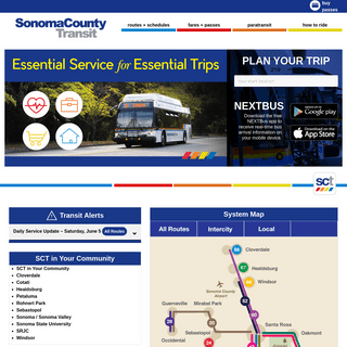 Sonoma County Transit