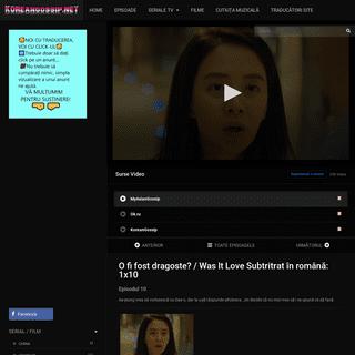 O fi fost dragoste-- 1×10 – Korean Gossip – România