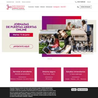 Centro Universitario Cardenal Cisneros - CUCC -