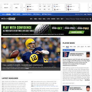 Fantasy sports, DFS, & betting news & analysis for NFL, MLB, NBA, & more