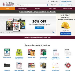 Safety & Compliance for DOT Transportation, OSHA, HR - J. J. Keller & Associates, Inc.
