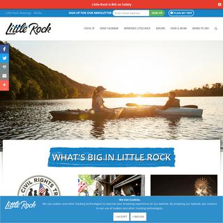 Little Rock - Arkansas Capital City - Arkansas Vacation Spots - Little Rock