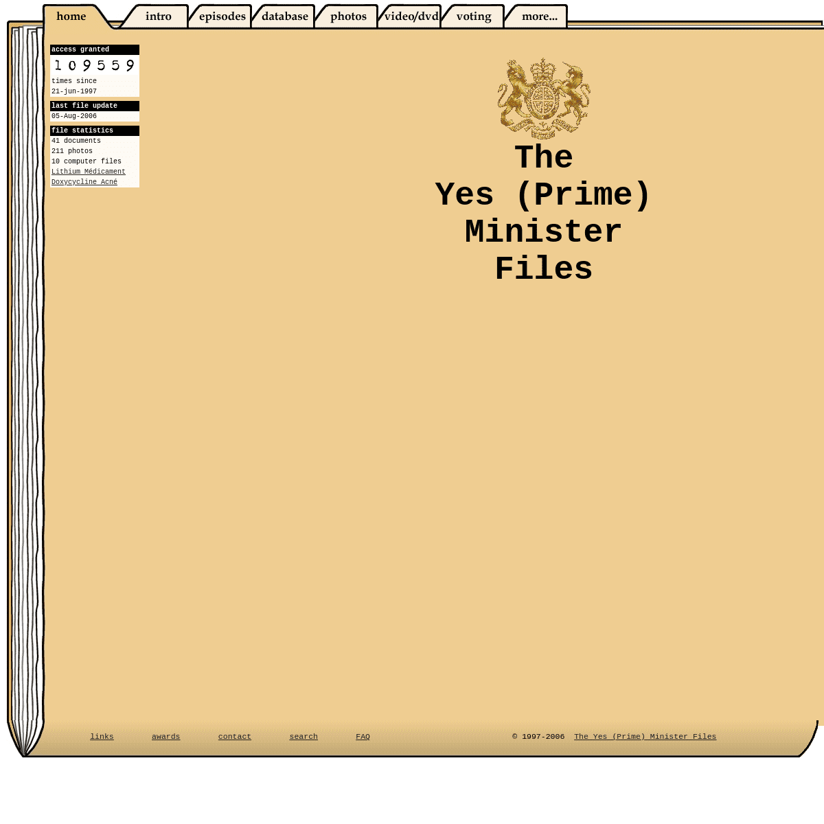 The Yes (Prime) Minister Files - For Your Eyes Only