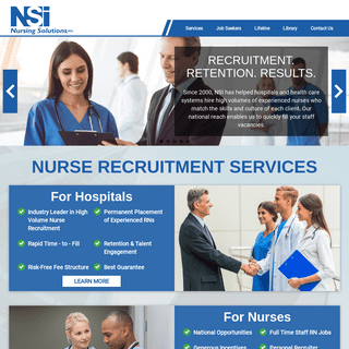 Welcome to NSI Nursing Solutions Inc.