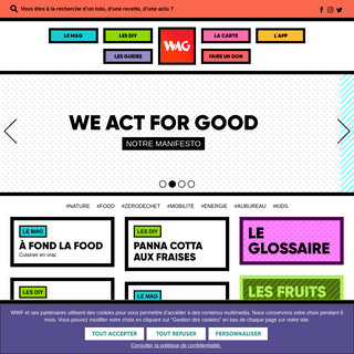 We Act for Good - WAG