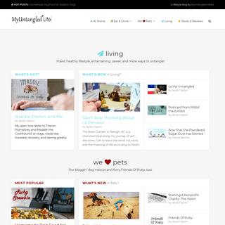 MyUntangled Life - A Lifestyle Blog from MyUntangled Media