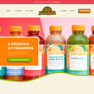 The BEST Fresh Smoothies & Juice in Texas - JuiceLand