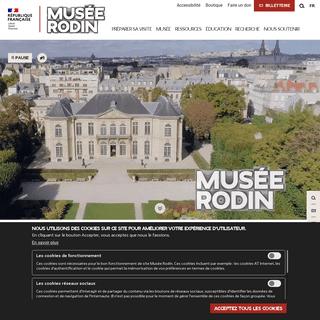 Accueil - Musée Rodin
