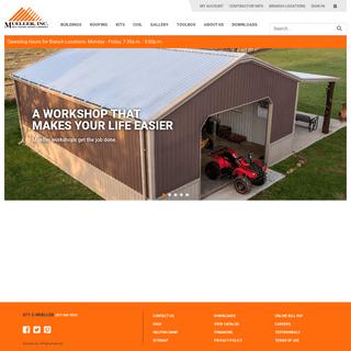 Steel Buildings, Metal Buildings, Metal Roofing - Mueller, Inc