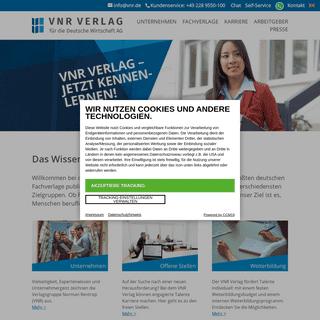 Startseite - VNR Verlag für die Deutsche Wirtschaft AG