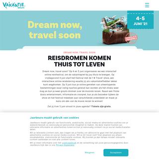 Vakantiebeurs - Eenmalig online - Vakantiebeurs