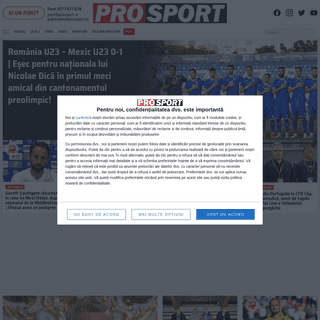 Știri sportive - Noutăți din fotbal, tenis, handbal - Știri din sport și rezultate live online