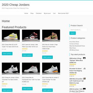 Nike Jordan Sneakers For Men and Women at 2020cheapjordans.com