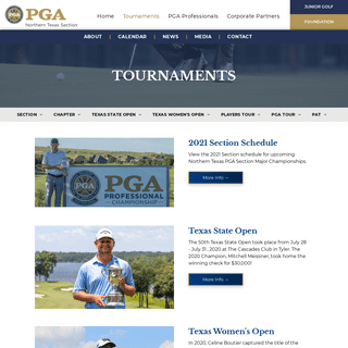 Tournaments - Northern Texas PGA