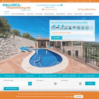 Mallorca Finca Vermietung – 1000 Fincas und Ferienhäuser mieten