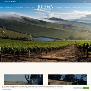Home - Jordan Wines Stellenbosch
