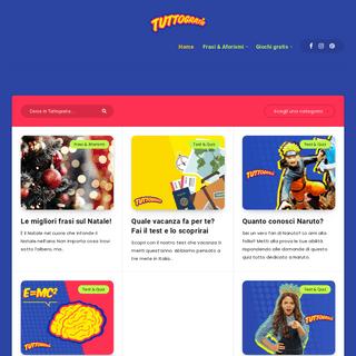 Tuttogratis- giochi online gratuiti e frasi per ogni occasione