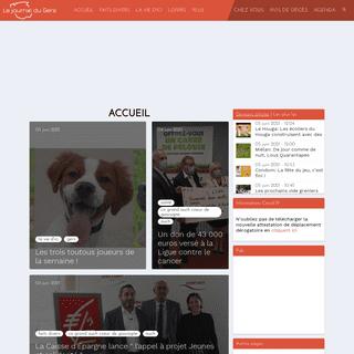 Accueil - Le journal du Gers