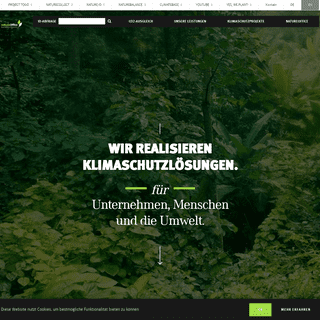 Klimaschutz durch Klimaneutralität mit natureOffice - natureoffice.com