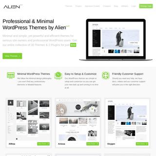 AlienWP - Clean, Minimal & Professional WordPress Themes