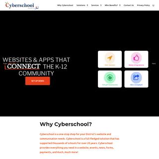 Cyberschool Web Platform - Cyberschool
