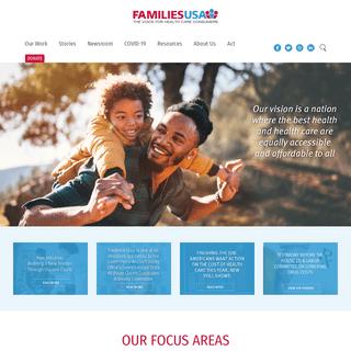 Home - Families Usa