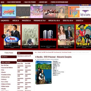 A Muralha - DVD-R Nacional - Minissérie Completa - NovelaDowns