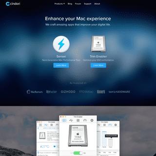 Cindori - Enhance your Mac Experience