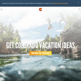 Colorado Tourism - Official Colorado Vacation Guide - Colorado.com