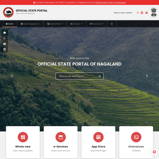 State Portal- Nagaland