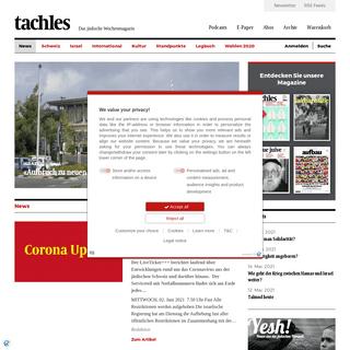 tachles.ch - Das jüdische Wochenmagazin