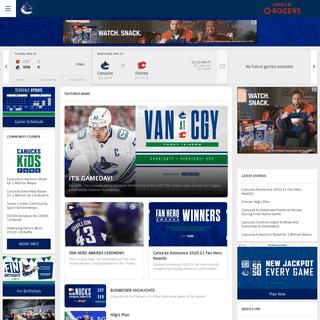 Official Vancouver Canucks Website - NHL.com