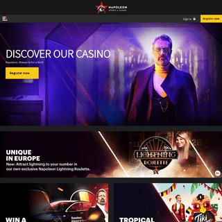 Napoleon Sports & Casino - Online Casino & Sportsbetting