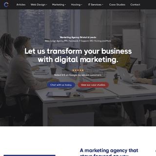 Marketing & Web Design Agency Bristol & Leeds - #1 in the UK