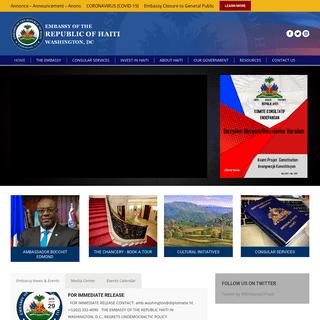Embassy of Haiti – Washington, DC